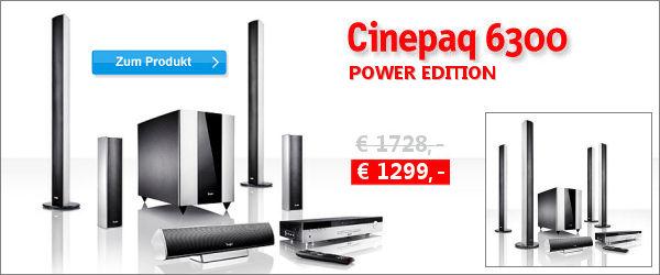 Cinepaq 6300 Power Edition - Aktion