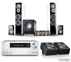 ULTIMA 40 SURROUND AVR - DOLBY ATMOS  - 8 Wochen Probehören