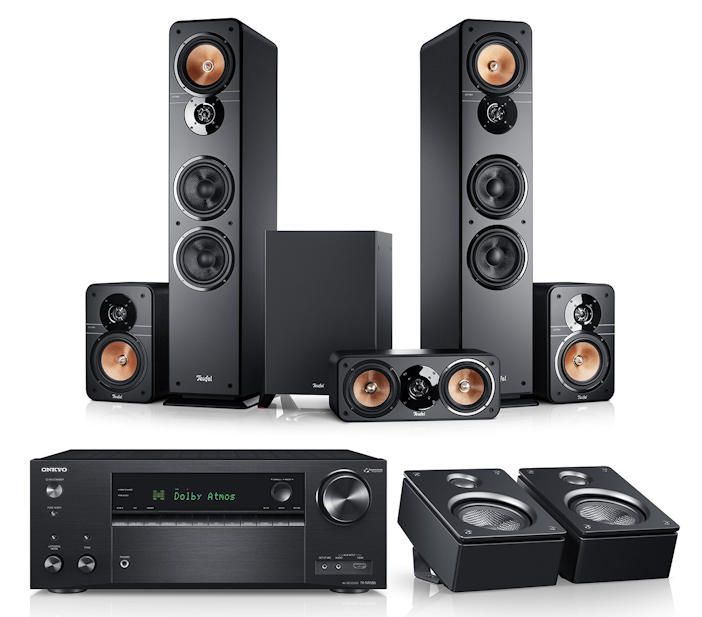 ultima 40 surround avr f r dolby atmos 5 1 2 set hifi. Black Bedroom Furniture Sets. Home Design Ideas